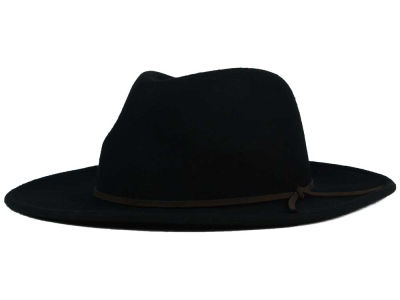LIDS Private Label PL Fedora Crown Flat Brim Hat
