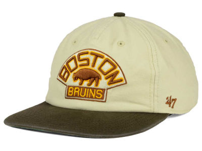 Boston Bruins '47 NHL '47 Marvin Snapback Cap