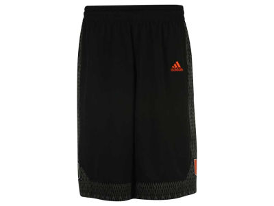 Miami Hurricanes adidas NCAA Men's Iced Out Replica Basketball Shorts
