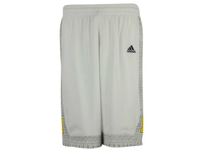 Michigan Wolverines adidas NCAA Men's Iced Out Replica Basketball Shorts