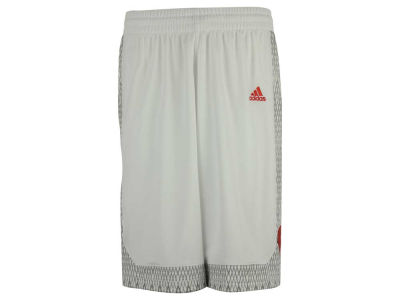 Wisconsin Badgers adidas NCAA Men's Iced Out Replica Basketball Shorts