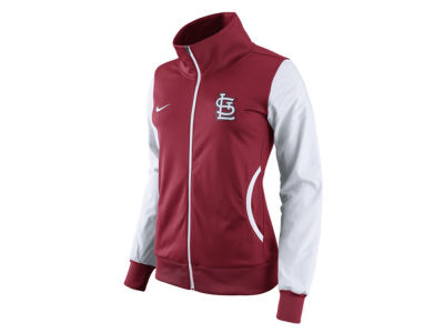 St. Louis Cardinals Nike MLB Women's Full Zip Track Jacket