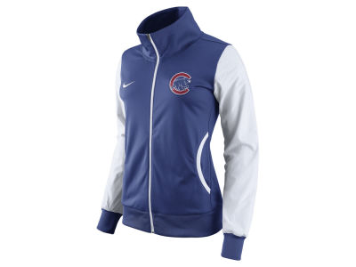 Chicago Cubs Nike MLB Women's Full Zip Track Jacket