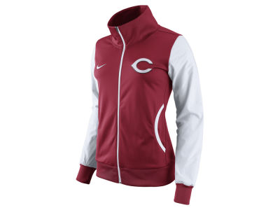 Cincinnati Reds Nike MLB Women's Full Zip Track Jacket