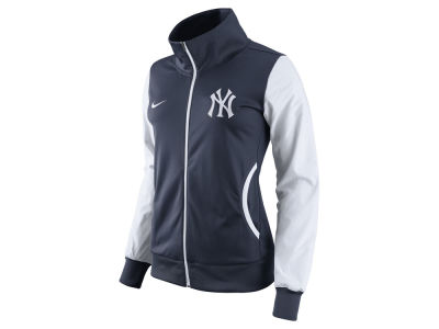 New York Yankees Nike MLB Women's Full Zip Track Jacket