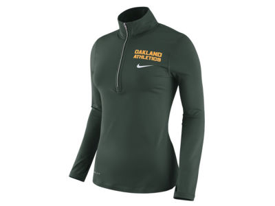 Oakland Athletics Nike MLB Women's Element Pullover