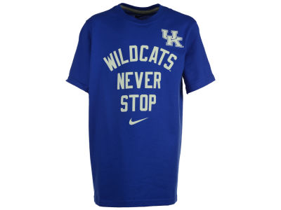 Kentucky Wildcats NCAA Youth Never Stop T-Shirt