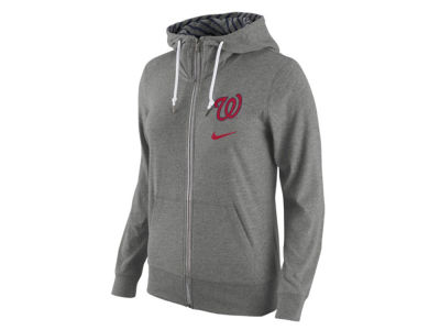 Washington Nationals Nike MLB Women's Gym Vintage Full Zip Hoodie