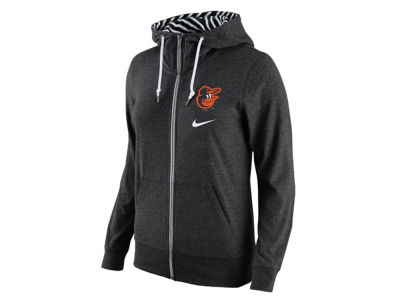 Baltimore Orioles Nike MLB Women's Gym Vintage Full Zip Hoodie
