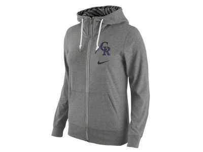 Colorado Rockies Nike MLB Women's Gym Vintage Full Zip Hoodie