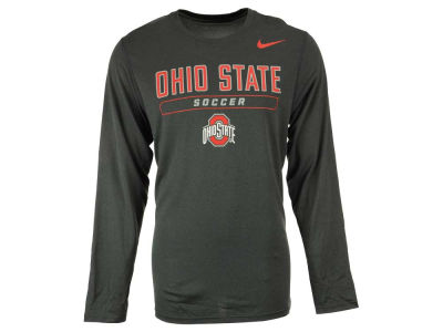 Ohio State Buckeyes NCAA Men's Soccer Dri-Fit Long Sleeve T-Shirt