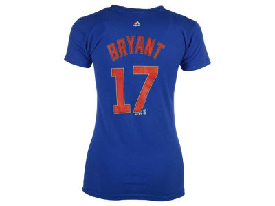 Chicago Cubs Kris Bryant MLB Women's Crew Player T-Shirt