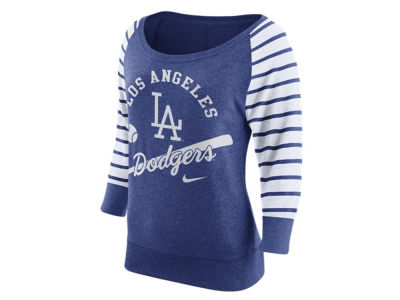 Los Angeles Dodgers Nike MLB Women's Coop Gym Vintage Crew