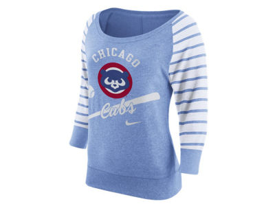 Chicago Cubs Nike MLB Women's Coop Gym Vintage Crew