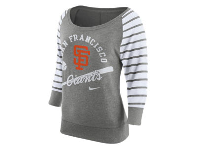San Francisco Giants Nike MLB Women's Coop Gym Vintage Crew