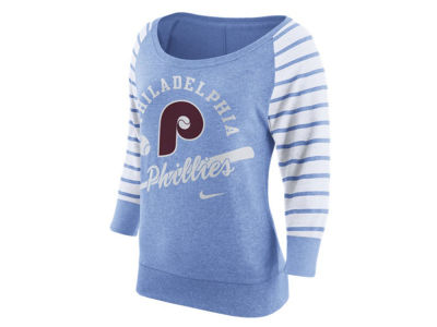 Philadelphia Phillies Nike MLB Women's Coop Gym Vintage Crew Sweatshirt