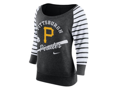 Pittsburgh Pirates Nike MLB Women's Coop Gym Vintage Crew