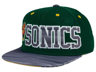 Seattle SuperSonics adidas NBA Undertone Snapback Cap