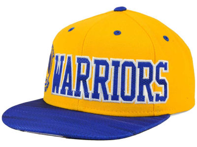 Golden State Warriors adidas NBA Team Jersey Mesh Snapback Cap