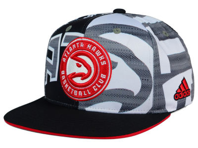 Atlanta Hawks adidas NBA 2016 All Team Screen Print Snapback Cap