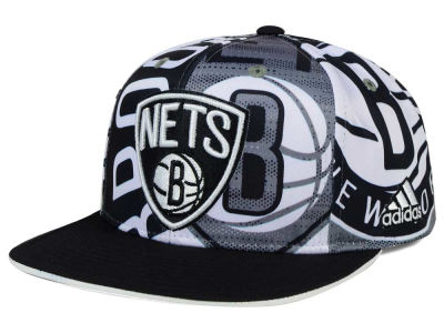 Brooklyn Nets adidas NBA 2016 All Team Screen Print Snapback Cap