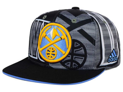 Denver Nuggets adidas NBA 2016 All Team Screen Print Snapback Cap