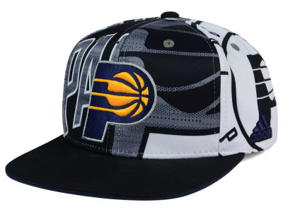 Indiana Pacers adidas NBA 2016 All Team Screen Print Snapback Cap