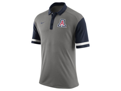 Arizona Wildcats Nike NCAA Men's Stadium Team First Stripe Polo Shirt