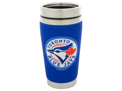 Toronto Blue Jays 16oz Stainless Steel Travel Tumbler
