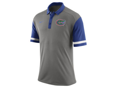 Florida Gators Nike NCAA Men's Stadium Team First Stripe Polo Shirt