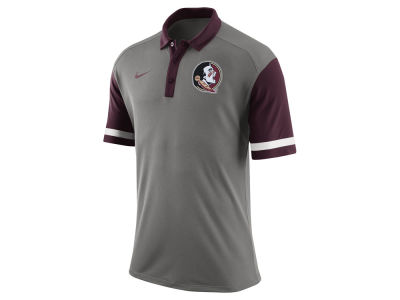 Florida State Seminoles Nike NCAA Men's Stadium Team First Stripe Polo Shirt