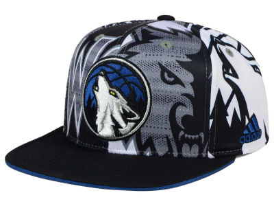 Minnesota Timberwolves adidas NBA 2016 All Team Screen Print Snapback Cap