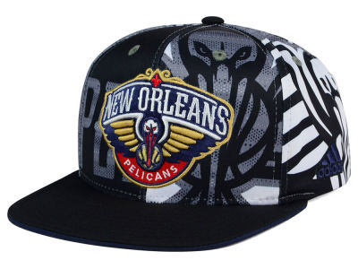 New Orleans Pelicans adidas NBA 2016 All Team Screen Print Snapback Cap