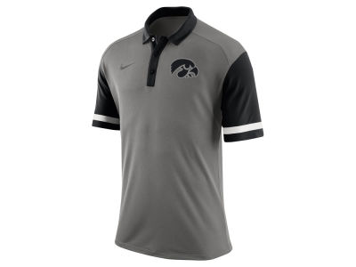 Iowa Hawkeyes Nike NCAA Men's Stadium Team First Stripe Polo Shirt