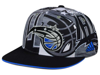 Orlando Magic adidas NBA 2016 All Team Screen Print Snapback Cap