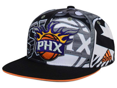 Phoenix Suns adidas NBA 2016 All Team Screen Print Snapback Cap