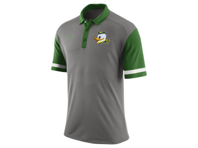 Oregon Ducks Nike NCAA Men's Stadium Team First Stripe Polo Shirt