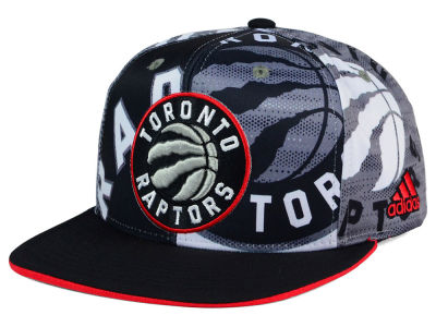 Toronto Raptors adidas NBA 2016 All Team Screen Print Snapback Cap