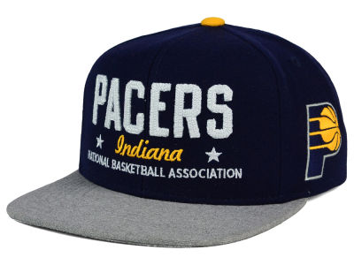 Indiana Pacers adidas NBA Chain Star Snapback Cap