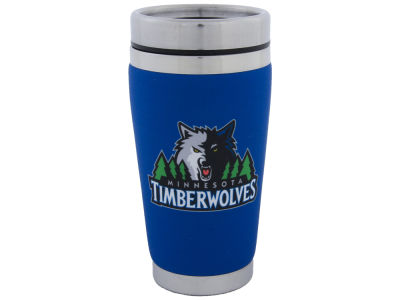 Minnesota Timberwolves 16oz Stainless Steel Travel Tumbler