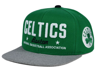 Boston Celtics adidas NBA Chain Star Snapback Cap