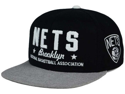 Brooklyn Nets adidas NBA Chain Star Snapback Cap