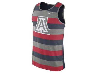 Arizona Wildcats Nike NCAA Men's Stadium Team First Striped Tank