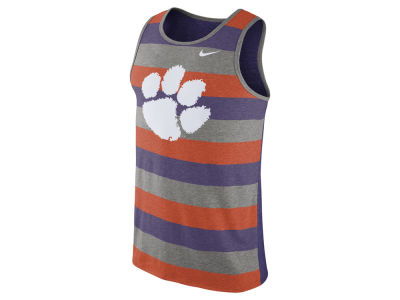 Clemson Tigers Nike NCAA Men's Stadium Team First Striped Tank