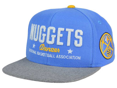 Denver Nuggets adidas NBA Chain Star Snapback Cap