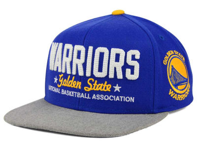 Golden State Warriors adidas NBA Chain Star Snapback Cap