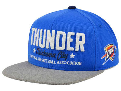 Oklahoma City Thunder adidas NBA Chain Star Snapback Cap