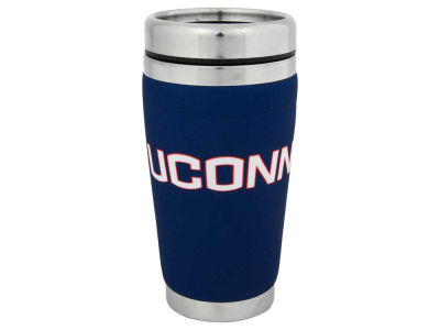 Connecticut Huskies 16oz Stainless Steel Travel Tumbler