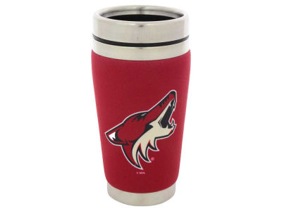 Arizona Coyotes 16oz Stainless Steel Travel Tumbler