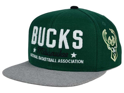 Milwaukee Bucks adidas NBA Chain Star Snapback Cap